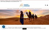 screenshot http://www.trekking-au-maroc.com agence de voyage