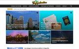 screenshot http://www.tropiqueslocation.fr locations de vacances dans les DOM TOM entre particuliers