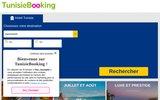 screenshot http://www.tunisiebooking.com hôtel tunisie