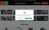 screenshot http://www.ultimebike.com UltimeBike.com magasin connecté vélo à Avignon Vaucluse