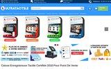 screenshot http://www.ultratactile.fr ultratactile - caisse tactile et accessoires neuf  occasion