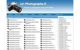 screenshot http://www.un-photographe.fr photographe