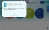screenshot http://www.unassi.fr/ unassi, association de soins et d'aide à domicile