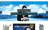 screenshot http://www.universel-transfo.com universel transformateurs