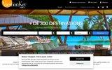 screenshot http://www.vacationkey.com/ location de maison au Jamaïque