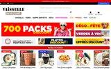 screenshot http://www.vaisselle-jetable-discount.fr/ Barquettes plastique