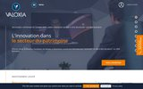 screenshot http://www.valoxia.com gestion de patrimoine, immobilier et fiancement