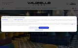 screenshot http://www.vauzelle.com mobilier chr, professionnel et design - ligne vauzelle