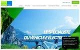 screenshot http://www.vehicules-electriques-aquitaine.com vente voiture électrique bordeaux, gironde 33
