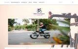 screenshot http://www.velochronique.com vélochronique: l'association des amoureux du vélo et leurs chroniques