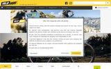 screenshot http://www.velovert.com/ vélo vert - magazine vtt