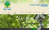 screenshot http://www.verttiges-elagage.com vert-tiges élagage