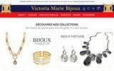 screenshot http://www.vickybijoux.fr vicky bijoux