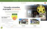screenshot http://www.vie-veranda.com véranda