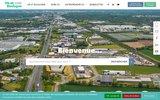 screenshot http://www.vieetboulogne.fr Communauté de communes Vie et Boulogne