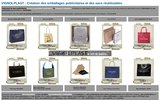 screenshot http://www.vignolplast.fr créateur de sacs et de housses à vêtements