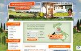screenshot http://www.villa-toscane.com location toscane