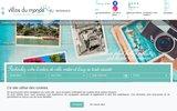 screenshot http://www.villasdumonde.fr villas du monde - location villa corse