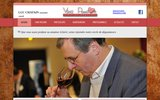 screenshot http://www.vino-passion.com vino passion l'art de déguster