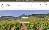 screenshot http://www.vins-engel.com vins blancs vente