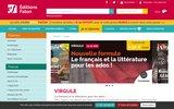 screenshot http://www.virgule-mag.com/ revue enfant de français : virgule