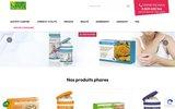 screenshot http://www.vitalbeauty.fr/ produits naturels santé et beauté