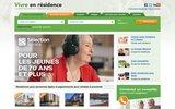 screenshot http://www.vivreenresidence.com/ Vivre en r�sidence