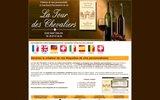 screenshot http://www.vltc.com vin de bordeaux avec étiquette personnalisée