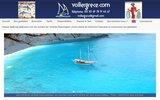screenshot http://www.voiliergrece.com les îles grecques en goélette