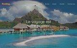 screenshot http://www.voyages-feeling.fr agence de voyages en ligne