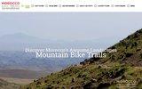screenshot http://www.vtt-maroc.com/ vtt maroc, raid, randonnee et trek vtt au maroc