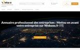 screenshot http://www.webzoo.fr Création de site web