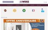 screenshot http://www.weisz.fr weisz le spécialiste des volets, portails, stores