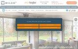screenshot http://www.wilco.fr/ wilco : pose de fermetures, automatismes et alarme