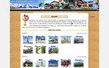 screenshot http://www.wingsunfurled-web.com carnets de voyage - les p�r�grinations de titi