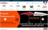 screenshot http://www.wongleon.fr a .:wongleon.fr/fabricant de parasols et materiel forain depuis 1950
