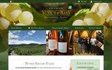 screenshot http://www.wunsch-mann.fr vins d'alsace wunsch et mann
