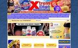 screenshot http://www.xtremdiet.com nutrition sportive et bien être