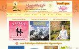 screenshot http://www.yoganet.fr le portail francophone du yoga