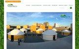 screenshot http://www.yourteco.com fabricant de yourtes