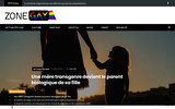 screenshot http://www.zonegay.fr zonegay, la rencontre gay gratuite  entre mecs