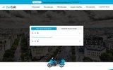 screenshot http://zencab.fr taxi moto