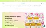 screenshot https://beely.fr/ Petit pot de miel
