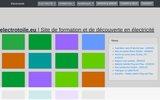 screenshot https://electrotoile.eu Le site de formation aux domaines de l'électricité, ou domotique