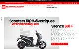 screenshot https://lesnouveauxscooters.fr/ concessionnaire scooter électrique