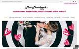 screenshot https://mon-photobooth.fr/ Accessoires et décors pour animation photobooth
