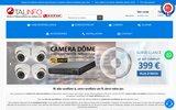 screenshot https://talinfo.fr Caméra vidéo surveillance