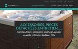 screenshot https://www.accessoires.culturespas.fr spa