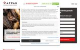 screenshot https://www.afpah.com Spécialistes en traitement des parasites du bois et des toitures