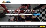 screenshot https://www.annuaire-karting.fr/ Annuaire Karting